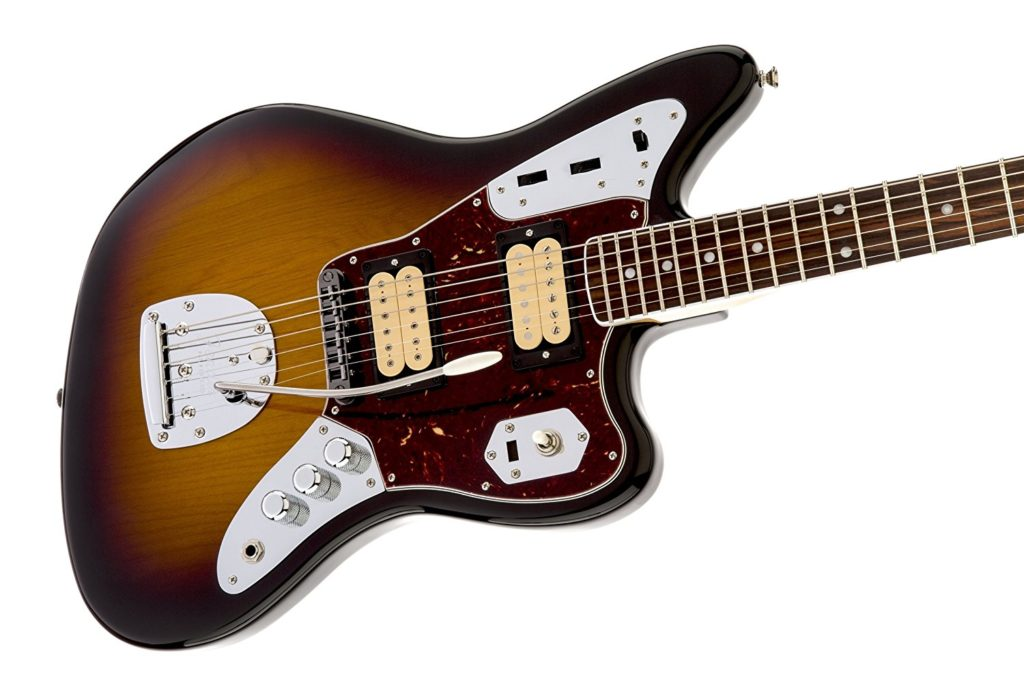 kurt cobain s guitars and gear in 2011 fender released kurt cobain jaguar signature model based on this very guitar the model features a dimarzio dp103 paf neck pickup and dp100 super