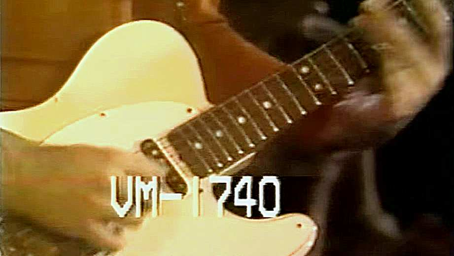 Rory's Telecaster without the neck pickup cover. Screencap Don-Kirshners Rock Concert YouTube