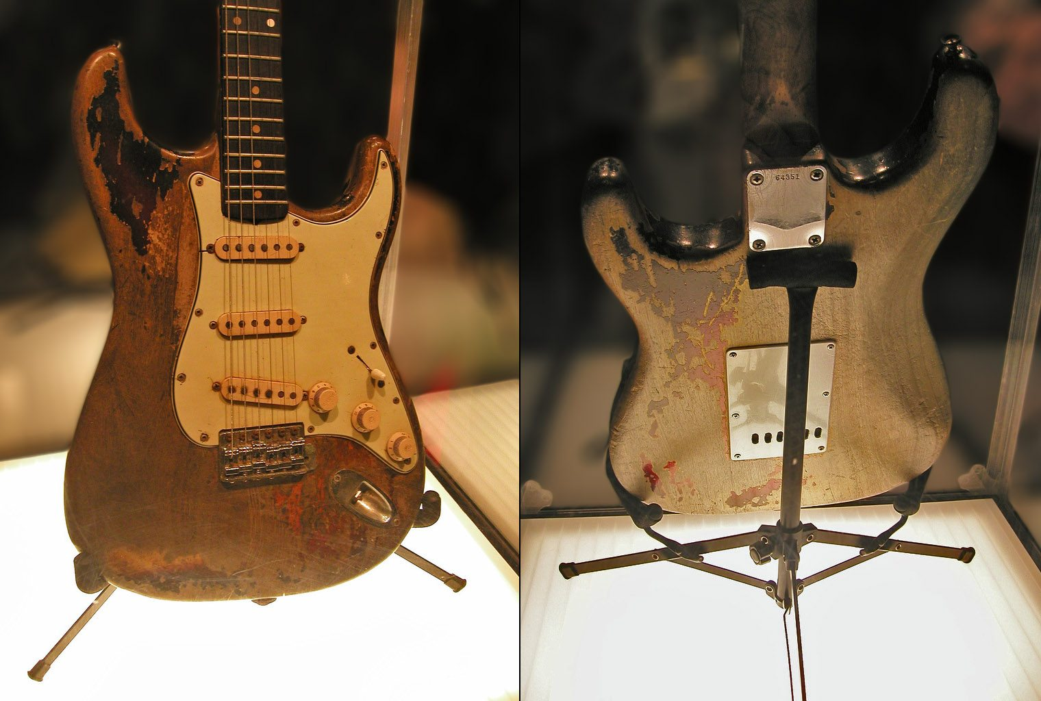 Rory Gallagher\'s Guitar Gear