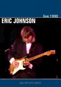 Eric Johnson Live modified dvd cover