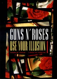 guns  and roses use your illusion tokyo 1992 dvd cover