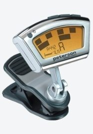 Peterson StroboClip Clip-on Guitar Tuner