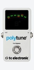 TC Electronics Polytune Pedal Guitar Tuner